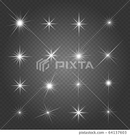 Glowing lights effect 64137603