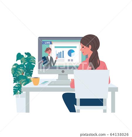 在线研讨会妇女观看视频分发插图 64138026