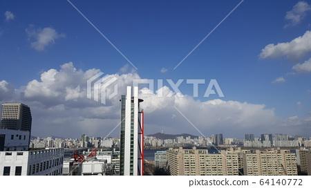 여의도 구름 하늘 001 64140772