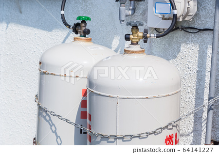 Gas stopper gas cylinder 64141227