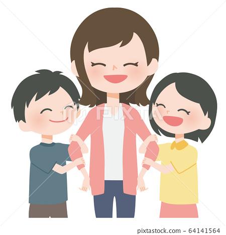 一個好父母和孩子 64141564