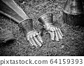 Medieval armor, hands 64159393