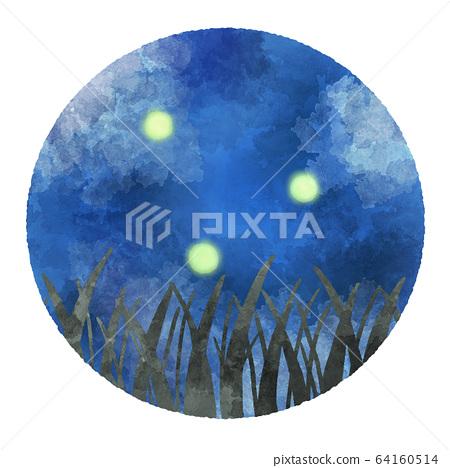螢火蟲圖像圖 64160514