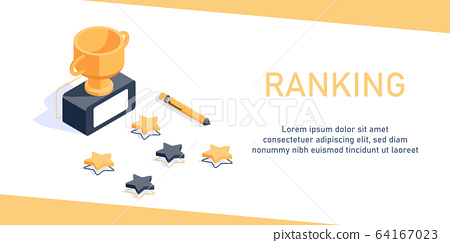 Feedback concept,Clients Choosing Satisfaction Rating and Leaving Positive Review,flat design icon vector illustration 64167023