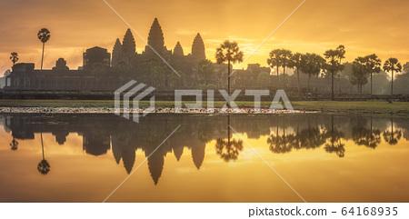 Temple complex Angkor Wat Siem Reap, Cambodia 64168935