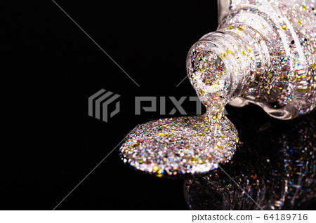 Colorful glitter background with object. 168 64189716