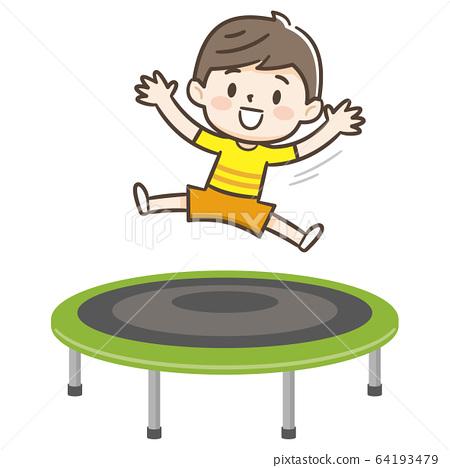 trampoline 64193479