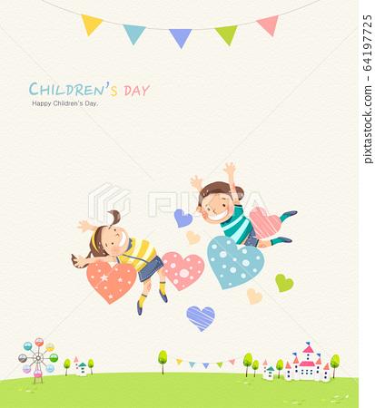 어린이날 일러스트001 64197725