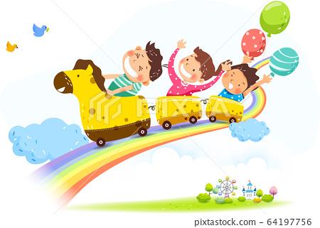 어린이날 일러스트014  64197756