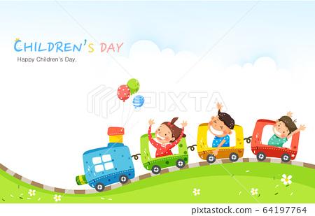 어린이날 일러스트019  64197764