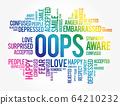OOPS word cloud collage 64210232