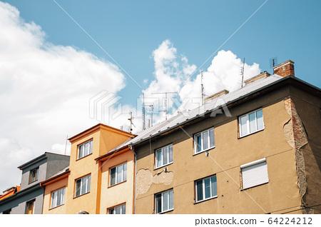 Old residential building in Olomouc, Czech Republic 64224212