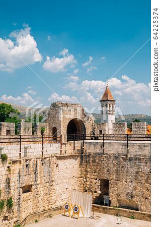 Kamerlengo castle and fortress in Trogir, Croatia 64225374