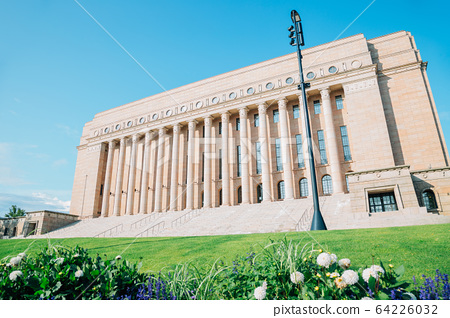 The Parliament House in Helsinki, Finland 64226032