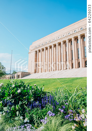 The Parliament House in Helsinki, Finland 64226033