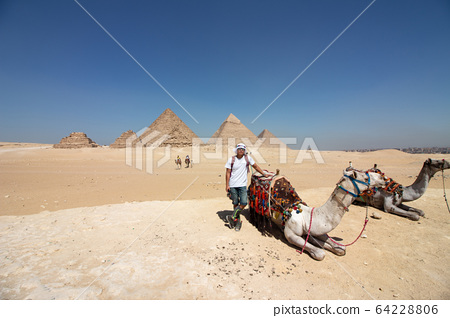 埃及開羅吉薩金字塔 64228806
