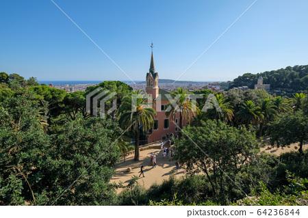Spain Barcelona Guell Park 64236844