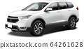 Car illustration SUV 4WD crossover outdoor original design 64261628