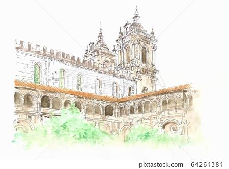 세계 유산의 거리 · 포르투갈 아루코바사 수도원 64264384