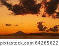Mt. Fuji at dusk 64265622