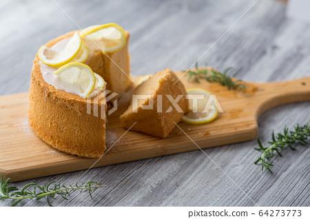 레몬 쉬폰 케이크 64273773