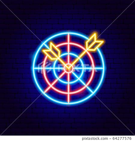 Darts Neon Sign 64277576