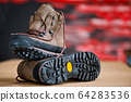 This boots are fit for hiking. 64283536