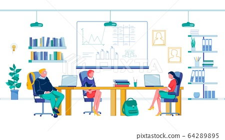Business Class in Trading and Finance Laboratory 64289895