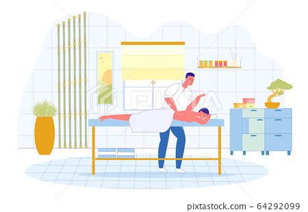 Japanese Shiatsu Therapeutic Massage Technique. 64292099