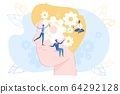 Character Lubricating Gear in Human Brain Head 64292128