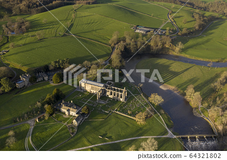 Bolton Abbey in Wharfedale, North Yorkshire, 64321802