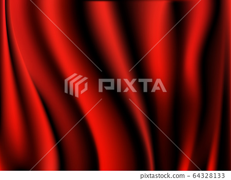 Red cloth luxury fabric texture can use as 64328133