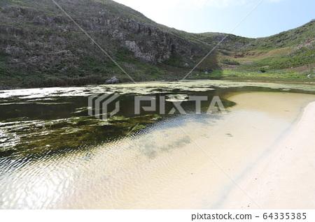 오가사와라 남섬 음양 연못 64335385