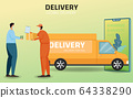 Online shopping and Online delivery service 64338290