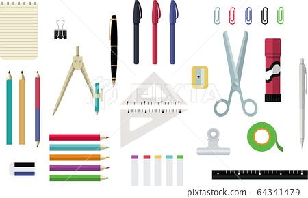 文具與簡約時尚的設計文具 64341479