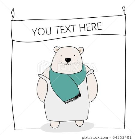吉祥熊,線寬 64353401