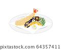 Tempura illustration 64357411