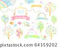 Watercolor material 1 64359202