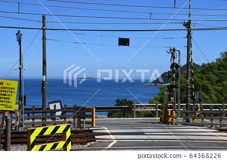 Sea crossing railway 64368226