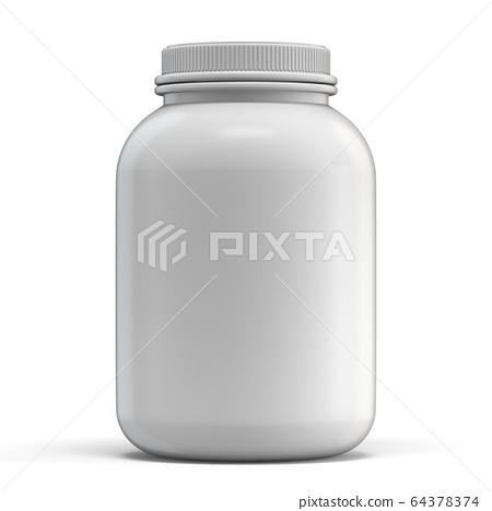 White plastic jag 3D 64378374