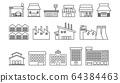 Line icon商店/工廠/設施 64384463