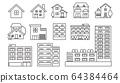 Line圖標房屋/公寓 64384464