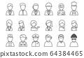 線圖標職業/人 64384465