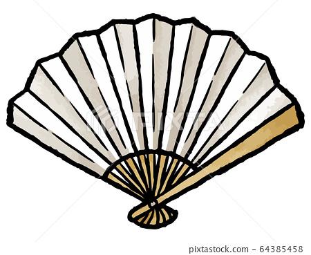 Folding fan 64385458
