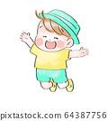 願意跳的孩子(夏天) 64387756
