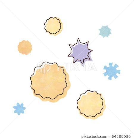 Pollen and virus 64389080
