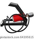 Vector Car Foot Pump 64395615