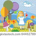 Vector cartoon Alice 2 64402789