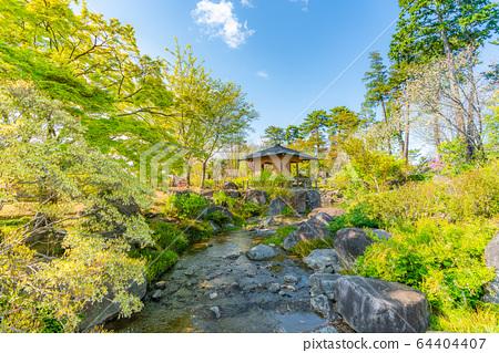 군마현 마에바시 임강 閣庭 정원의 풍경 64404407