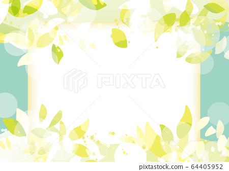 녹색 이미지 프레임 64405952